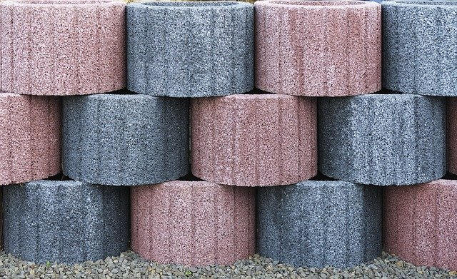 Stapelblokken van beton
